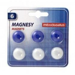 MGM006 Magnesy Memoboards 6 szt. 20 mm